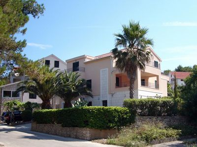 Photo for Two bedroom apartment with terrace Vrboska, Hvar (A-552-a)