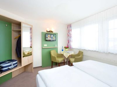 Photo for Double Room with Lake View II - REB Ferienpension am Neuensiener See with lake view