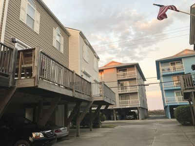 Photo for Newly Renovated - Steps to the beach with ocean views and a pool