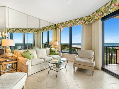 Photo for 302E - Feel pampered in this 2BR beachfront condo!