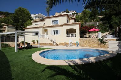 La Corona is situated on the Montgo close to the port of Javea