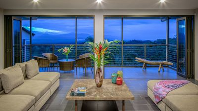 Take in the amazing views of Manuel Antonio right from your living room.