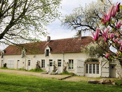 Photo for Beautiful 18th closes 15 minutes from Beauval Zoo / castles / Loire Valley charming farm