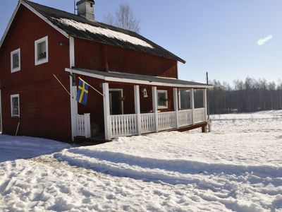 Photo for Branäs / Spikebol Farm with large barn in village with 8-10 houses close to the river