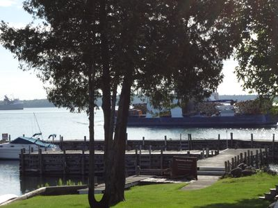 Photo for Freighter View on the St.Mary's river