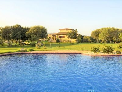 Photo for VILLA RIBOT- Rural property 12 pax in Canyamel, Mallorca. Private pool. BBQ Clear views. Families Children welcome - 101605- - Free Wifi