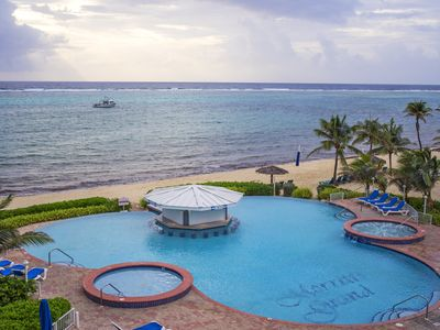 Photo for East End, Cayman Island, Deluxe Beach Front Condo - 1 WEEK ONLY, Aug - Dec 2019
