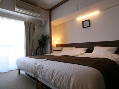 Photo for [NEW] Near Yokohama ★ Up to 8 people ★ Station directly connected Easy Apartment!Very convenient location as a stay base all over Japan!(Tokyo-Yokohama-Kamakura-Kansai)