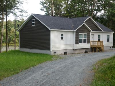 Brand New 3 Br Home On 300 Acres With Private 10 Acre Pond