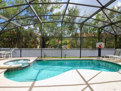 Photo for South Facing Pool & Spa / Games Room / Ideal for Disney