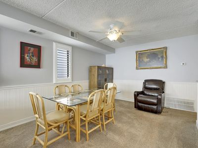 Photo for FREE DAILY ACTIVITIES!!! OCEANFRONT! Beautiful 3 Bedroom/2 Bath condo. Open floor plan. Bright and spacious