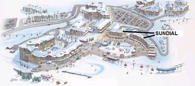 there is no better location -- the Red Pine Gondola and resort plaza are immediately outside