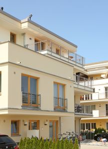 Photo for Exclusive apartment with sea view and balcony, Wi-Fi, only 100m from the beach