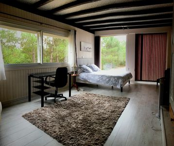 Photo for Mimizan: 110m2 apartment between beach and Landes forest
