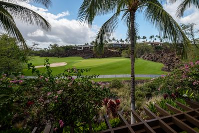 You may very well spend much of your time watching the world go by from your lanai.
