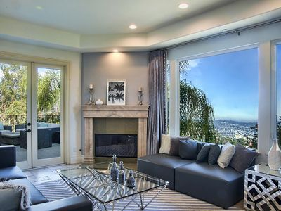 Photo for Grand Mediterranean Home in the Hills