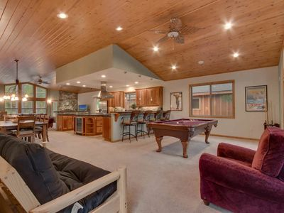 Photo for Luxury house w/ pool table & shuffleboard, Close to Town and Ski Area