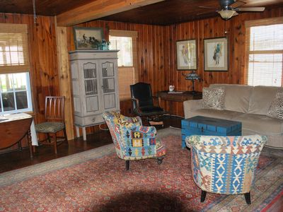 Photo for Cozy Oceanview Beach Cottage unit with large Deck 2B/2B