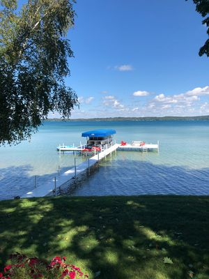Photo for Torch Lake Home  3 bedroom 2 bath 225 feet on water