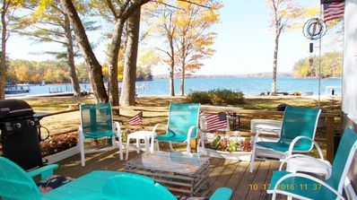 RARE WADE-IN BEACHFRONT COTTAGE WITH DOCK FOR FAMILY FUN.