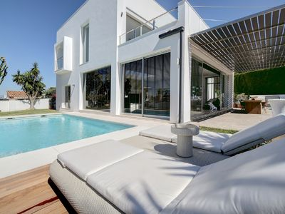 Photo for Stunning Contemporary Villa next to Golf Resort