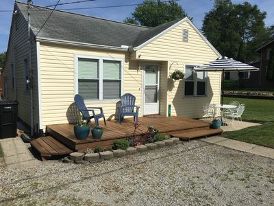 Photo for 2BR Cottage Vacation Rental in Brooklyn, Michigan