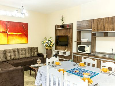 Photo for APARTMENT WITH 2 BEDROOMS WITH AIR, WIFI AND TV IN ROOMS