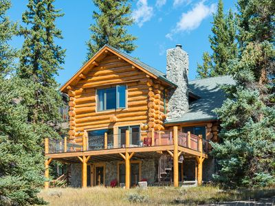 Photo for Log Cabin with Big Views, Private Hot Tub, in Keystone Ranch