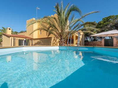 Photo for Dream House in the Beautiful Cala Mondragó 200m from the Beach, with Terrace, Balcony and Wi-Fi