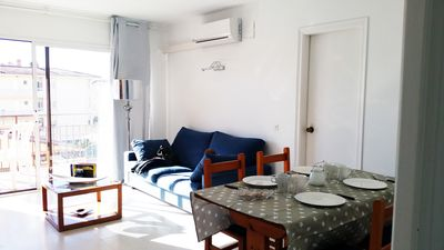 Photo for 2 bedroom apartment! 50 m far from the beach! has wi-fi, swimming pool, parking!