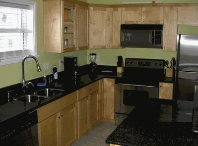 Kitchen stocked with pots/pans/dishes - Everything you need!