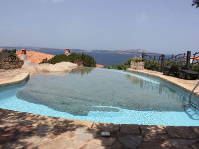 Photo for Villa with Fantastic Sea View, Pool, Air Conditioning and Garden; Garage Available