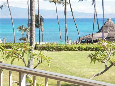 Photo for Napili Shores Studio w/ AC: Great Ocean Views! Steps to Snorkel w/turtles & SUP