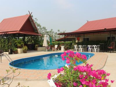 Photo for 3 Double bedroom apartment Pool extensive Kitchen dining room 1,2,3 bed option