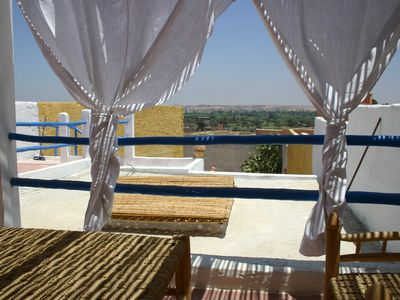 Photo for traditional house with terrace on the palm grove