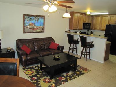 Photo for WOW! AWESOME VIEW New Braunfels WATERWHEEL Luxury River Condo near Schlitterbahn
