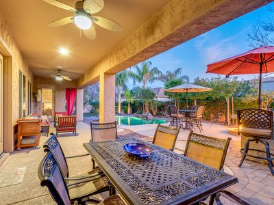 Photo for Luxury Chandler Home with Resort Style Backyard in a Private Gated Community!
