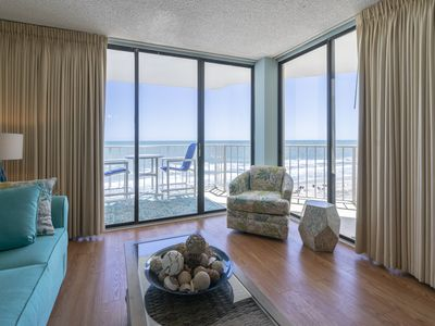 Photo for Ocean Front 2 Bedroom/2Bath Condo Booking for Spring and Summer 2019!!!!