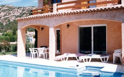 Photo for LAVANDOU. SAINT CLAIR - BEAUTIFUL VILLA SWIMMING POOL- 3 BEDROOMS.
