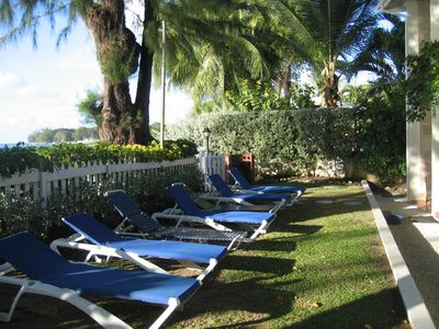 Photo for Beach front villa on beautiful west coast with fabulous seaviews, sleeps up to 8