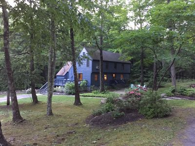 Escape Manhattan to our incredibly private home on 30 acres!
