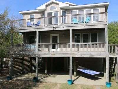 Photo for Oceanside beach house with private pool & hot tub, Duck, NC