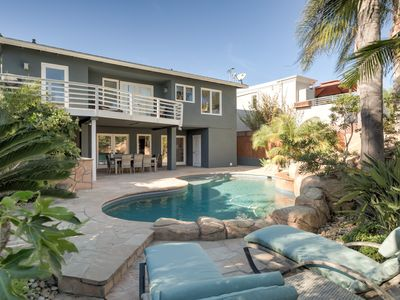 Photo for Steps to the Sand - Charming Beach Bungalow with Pool!