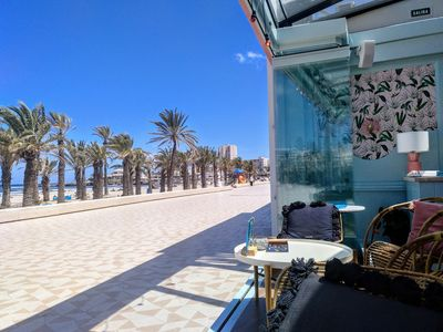 Photo for Javea Arenal, Holiday Apartment, 4 pers, 2 bedr,  swimming pool