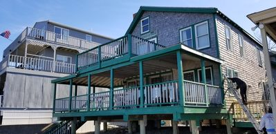 Photo for 1 Bedroom ON BEACH with Loft sleeps up to 5! On Minot Beach!