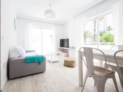 Photo for Modern apartment 100m from the beach of Cala Millor