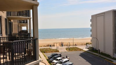 Photo for #403 Ocean Front Condo, 2 Bedroom, 1 Bath, One Virginia Avenue, Rehoboth Beach DE