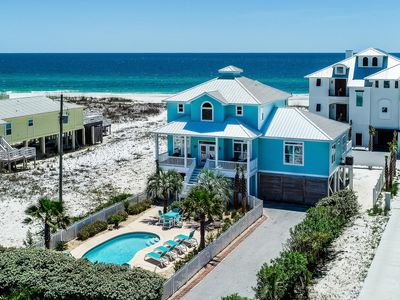 Photo for Private Beach Home Sitting on the Sand! Large Private Pool. Multiple Balconies with Views!