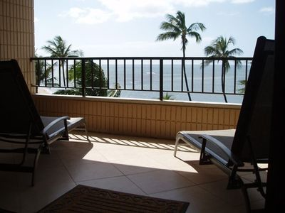 Photo for Koa Lagoon Oceanfront Sixth Floor Condo Free Dsl and Phone