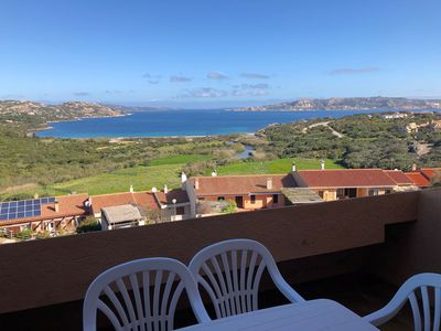 Photo for Holiday Apartment with Sea View, Terrace and Garden; Parking Available; Pets Allowed